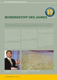 Biowerkstoff des Jahres 2008 - bei Barkcloth