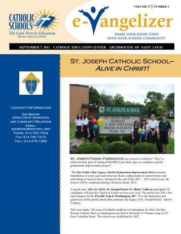 Good News - Archdiocese of St. Louis