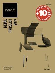 infiniti - Retail Pricelist 2019