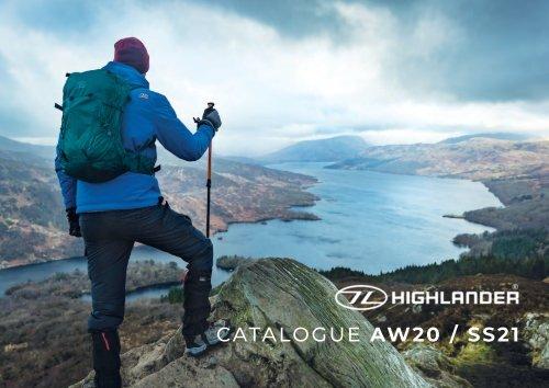 Highlander Catalogue AW20 / SS21