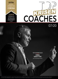 TOP KRISEN-COACHES / Beilage im manager magazin 07/20