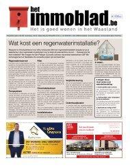 Het Immoblad van 16 juni 2020