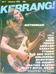 Kerrang - 07 1982