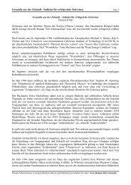 Gesandte aus der Zukunft - Thomas Ritter Reisen
