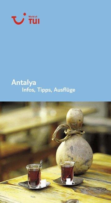 TUI InfosTippsAusfluege Antalya