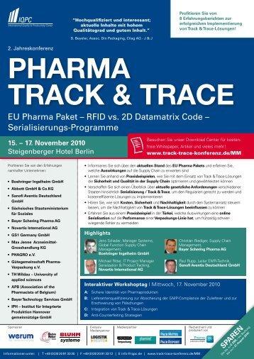 PHARMA TRACK & TRACE - brainGuide