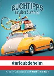#urlaubdaheim - Buchtipps für den Sommer