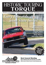 Gary Edwards wins State Series! - Historic Touring Car Association ...