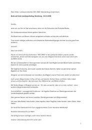 Peter Ritter, Landesvorsitzender DIE LINKE. Mecklenburg ...
