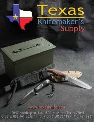 Product List - Texas Knifemaker's Supply