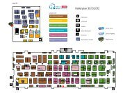 Hallenplan 30.10.2012 - ID Deutschland