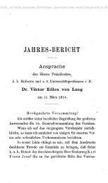 •JAHRES-BERICHT