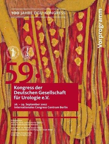 ICH BIN. Mit Leib & Seele Mann. - DGU-Kongress