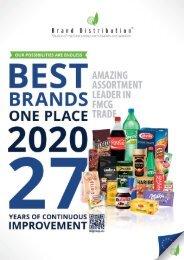 BDG Food catalog 2020