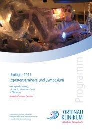 Urologie 2011 - Ortenau Klinikum
