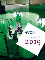 Activity report EVZ Foundation 2019
