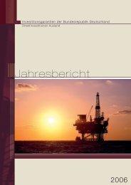Jahresbericht 2006 - AuslandsGeschäftsAbsicherung der ...