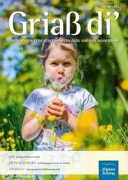 Griass di`- Das Magazin für das südliche Ostallgäu und das Ausserfern