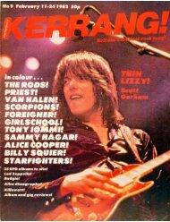 Kerrang - 09 1982