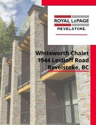 Whiteworth Chalet Listing Package