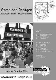 3 - Bündnis 90/Die Grünen Roetgen