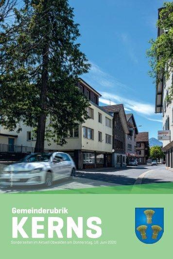 Gemeinde Kerns 2020-25