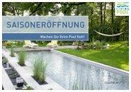 Online-Broschüre Saisoneröffnung am Living-Pool - Schleitzer baut ...