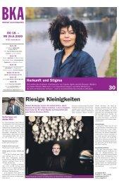 Berner Kulturagenda N°22