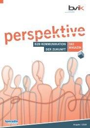 perspektive - Sonderdruck vom bvik 2020