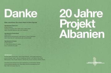 Projekt Albanien - Schreib- und Textbüro Silke Ritter