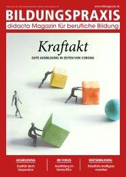 Bildungspraxis 02/2020