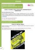 Stages d'été du Foyer culturel de Jupille-Wandre - Page 4