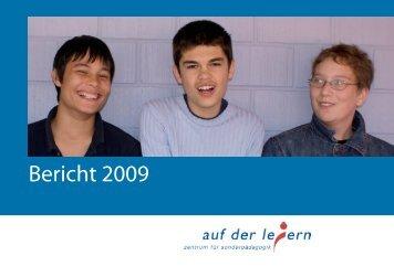 Jahresbericht 2008 - Zentrum für Sonderpädagogik Auf der Leiern
