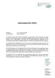 Jahresbericht 2011 - Liechtensteinischer Entwicklungsdienst