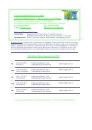 Programm Jahrestermine 01.2012