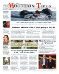 Mountain Times - Volume 49, Number 25 - June 17-23, 2020