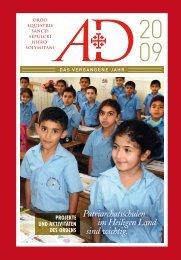 Patriarchatsschulen im Heiligen Land sind wichtig. - La Santa Sede