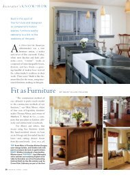 Fit As Furniture - Timeless Kitchen Design :: Kevin Ritter