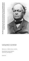 Ludwig Ritter von Köchel - Institut für Österreichische ...