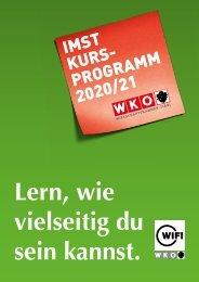 WIFI Imst Kursprogramm 2020/21