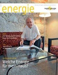 Welche Energie für mein Haus? - Regio Energie Solothurn