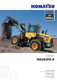 WA250PZ-6 - komatsu europe