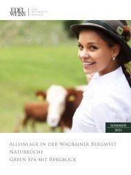 Edelweiss - Sommer Broschüre 2021