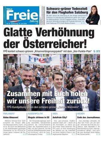 Eine glatte Verhöhnung der Österreicher!