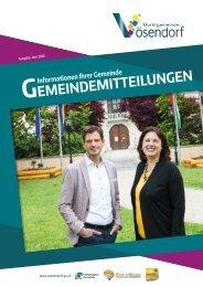 Gemeindemitteilungen 06/2020