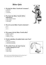 Ritter Quiz (pdf, 81 KB)