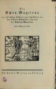 Die schn Magelona : eine fast lustige Historie von dem Ritter mit den ... - Seite 5
