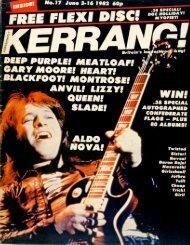 Kerrang - 17 1982