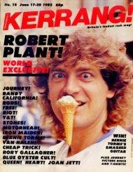 Kerrang - 18 1982