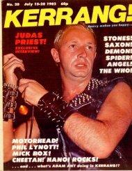 Kerrang - 20 1982
